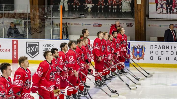 ХК «Ростов» сыграл с трехкратным чемпионом ВХЛ