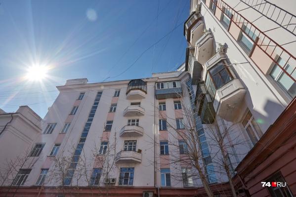 Дома в городке чекистов начали строить в конце 1920-х годов