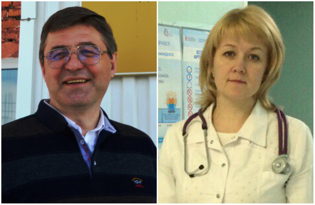 Михаил Девятков занял второе место в номинации«Лучший санитарный врач», а Ирина Пестерева— второе место в номинации«Лучший врач общей практики (семейный врач)»