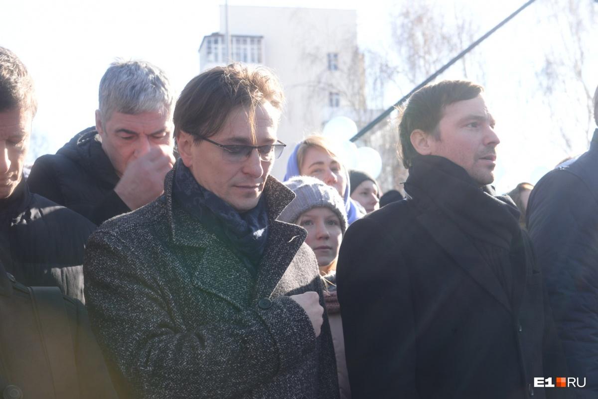 Сергей Безруков и Алексей Чадов