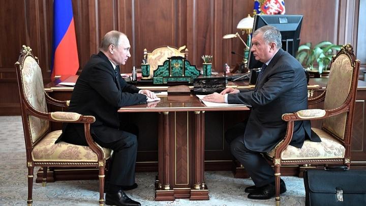 Игорь Сечин попросил поддержки у Путина для строительства арктического кластера на Таймыре
