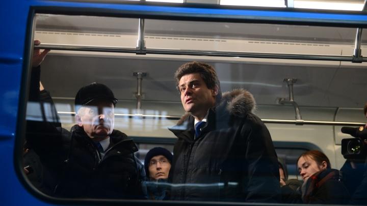 Высокинский пообещал построить вторую ветку метро в Екатеринбурге к 2023 году