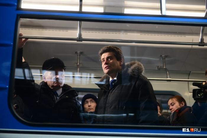 Мэр рассчитывает, что за четыре года в Екатеринбурге успеют построить вторую ветку метро