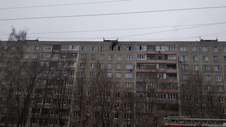 В Уфе из горящей квартиры чудом спасли мужчину