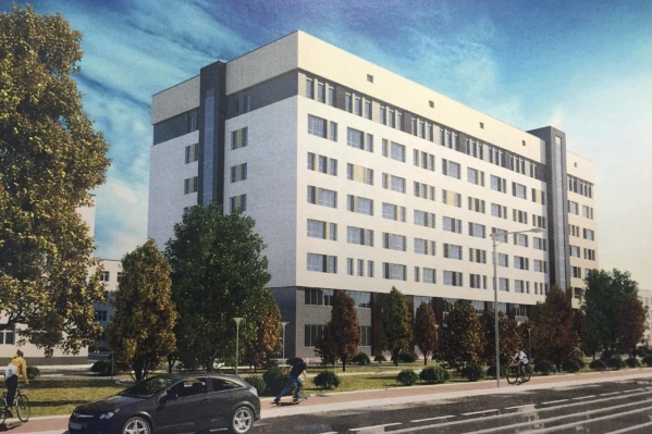 В новом корпусе онкобольницы будет несколько подземных этажей