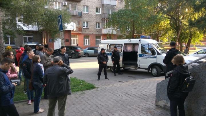 Суд арестовал на 30 суток участника митинга в Новосибирске