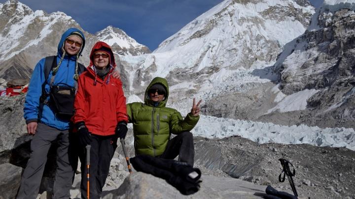 Пенсионерка из Екатеринбурга потратила все сбережения и улетела покорять Гималаи