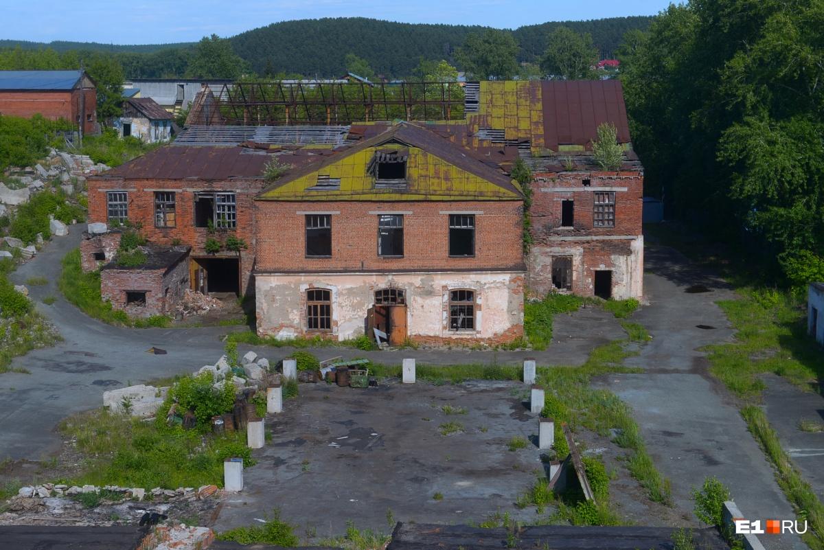 Второй цех Сысертского завода