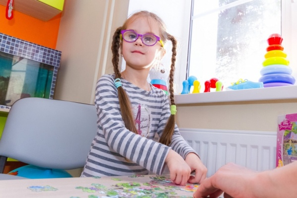 Маленьким пациентам с нарушениями зрения очень понравилось новое отделение