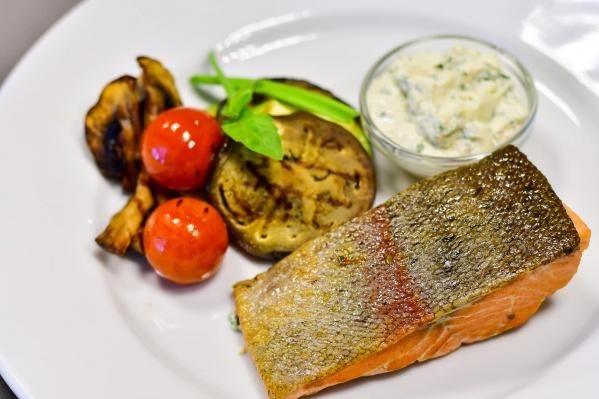 Блюда из рыбы не только полезны, но и элегантно оформлены
