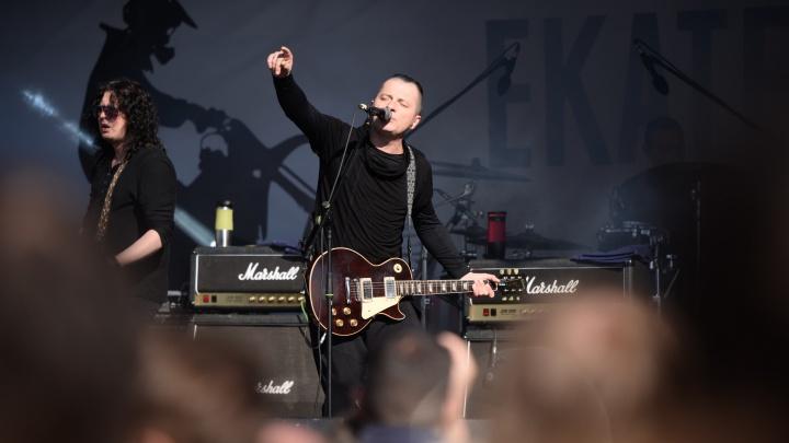 На рок-концерте «Города Ангелов» выступили певица Юта и Вадим Самойлов из «Агаты Кристи»