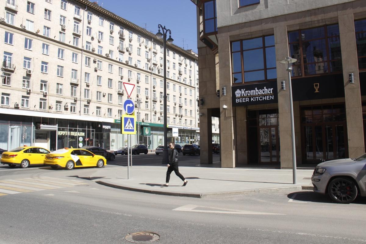 Ресторан Krombacher Beer&Kitchen на 1-й Тверской-Ямской