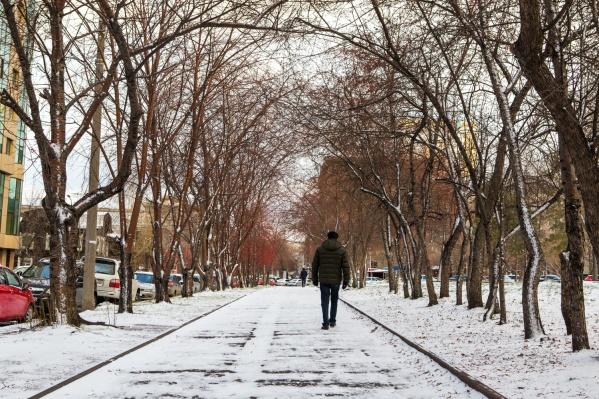 Вспоминаем, когда первый снег пошёл раньше всего — в этом году нам сильно повезло