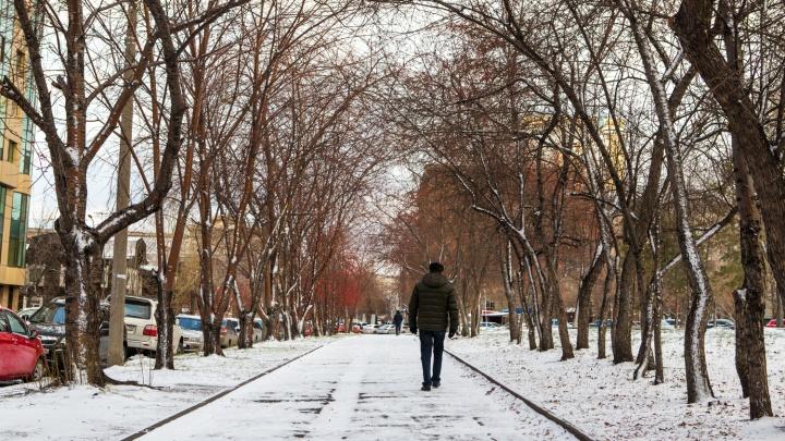Самый поздний первый снег за последние годы: вспоминаем, когда обычно наступала зима в Новосибирске
