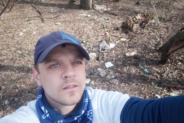 Игорь Беджанян готов и дальше прибирать зелёную зону рядом с домом