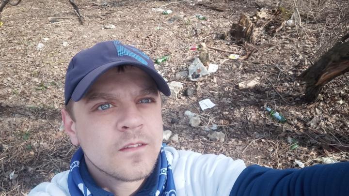 «Мечтаю, что тут будут фонтаны»: ярославец, прибравший в одиночку парк, рассказал, зачем это сделал