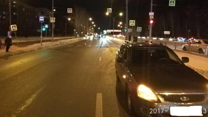 На Юго-Западе водитель Lada Priora сбил 11-летнего мальчика