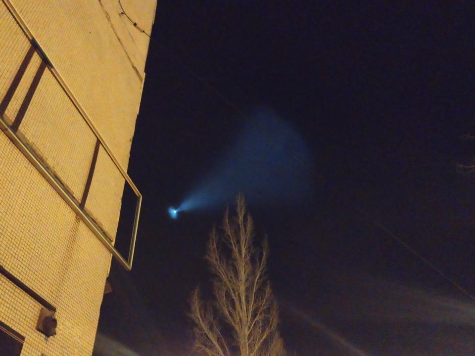 Жители Тольятти тоже сняли странный объект