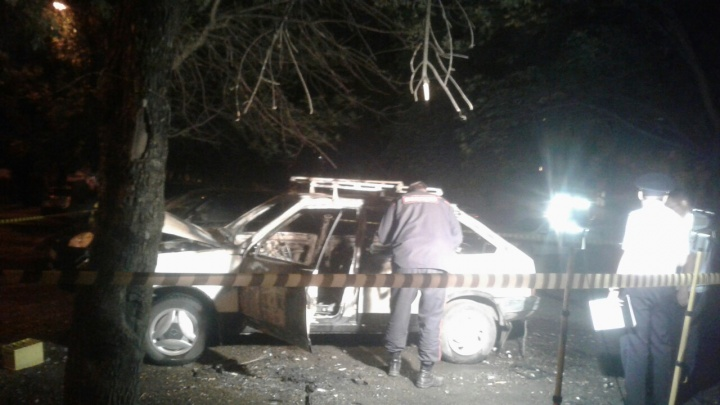 Поджог или несчастный случай: в сгоревшей дотла «девятке» погиб уфимец