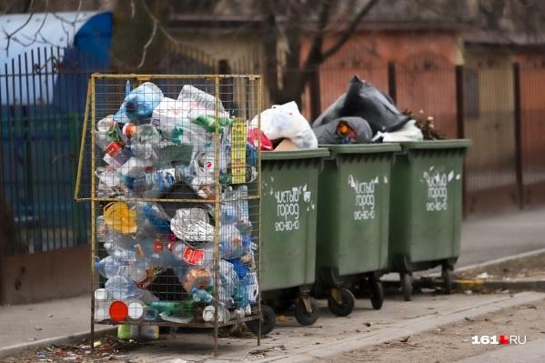 С 1 января в Ростове начнут сортировать мусор