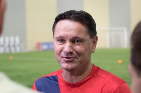 Аленичев пришел на пост главного тренера в 2017 году