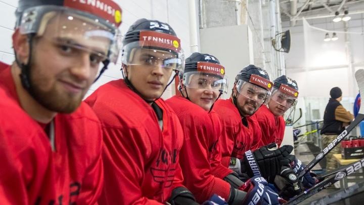 Обаяшки с горами мускулов: один день с хоккейной командой ЦСК ВВС