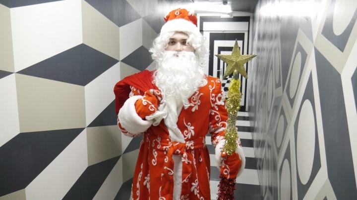 В честь Нового года в Омске открылся «Звездный портал»