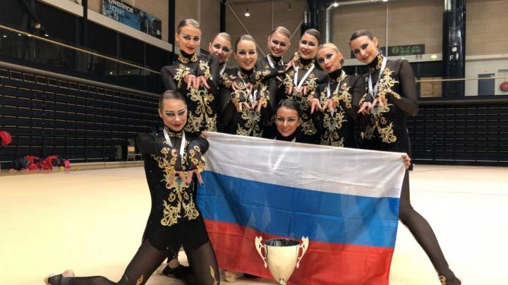 Уроженка Новосибирска выиграла золото на мировых соревнованиях по эстетической гимнастике
