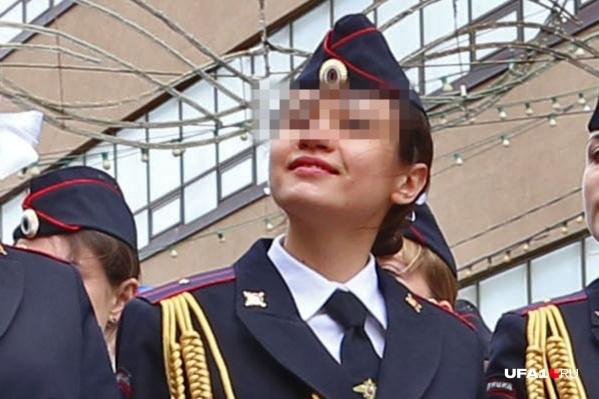 23-летняя девушка всего несколько месяцев проработала в полиции