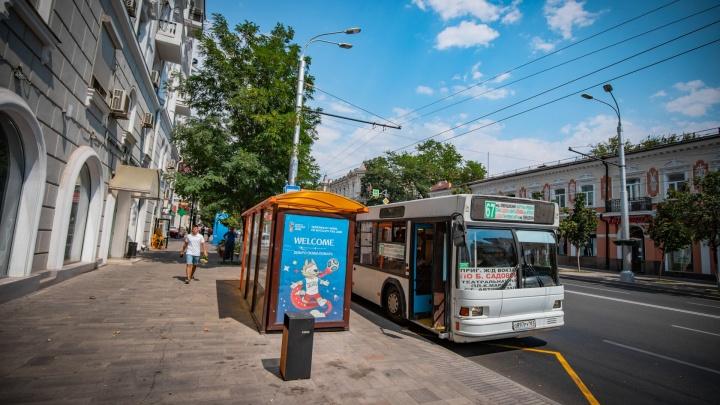 В Ростове установят 100 новых остановок до конца года