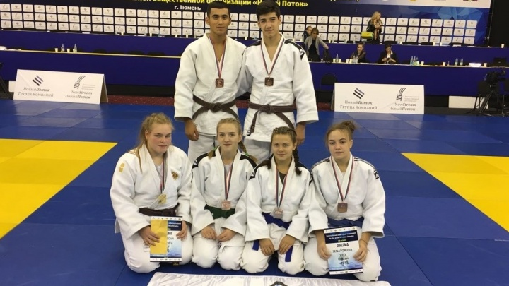 Свердловские дзюдоисты собрали коллекцию медалей на международных соревнованиях в Тюмени