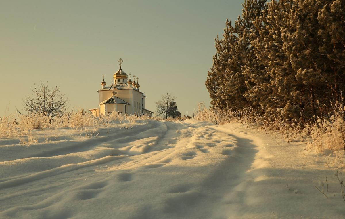 Казанская церковь в Арамашево. Автор Юрий Кетель