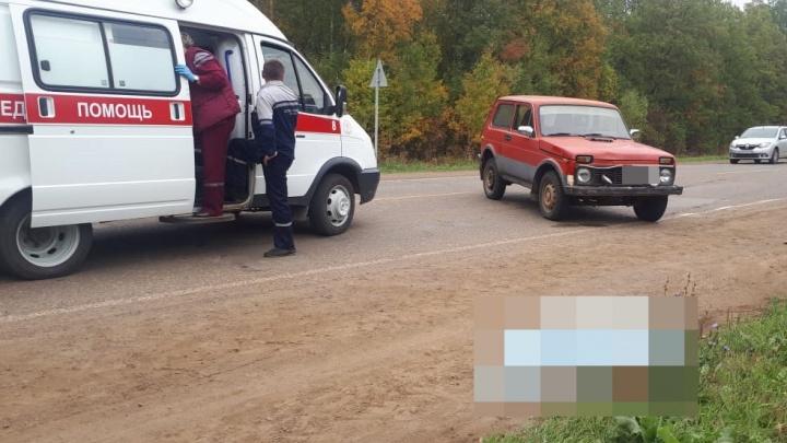 Неожиданно вышла на проезжую часть: в Башкирии водитель «Нивы» сбил бабушку