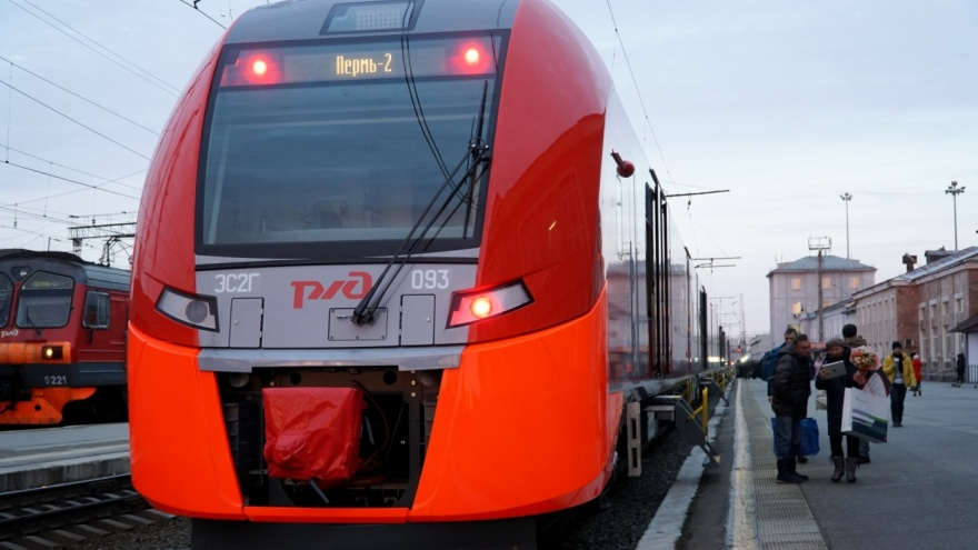 Стала известна стоимость проезда на «Ласточке» из Перми в Екатеринбург