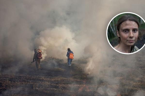 «Тушу пожары, потому что знаю, что это спасает леса»