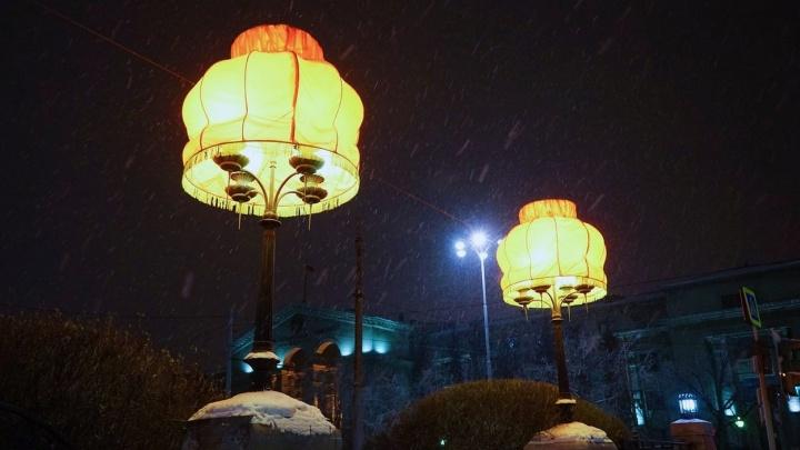 В Екатеринбурге пройдёт световой фестиваль, который подарил городу абажуры у Оперного театра