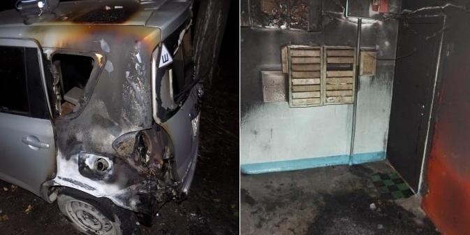 Поджигающего подъезды и машины пиромана задержали под Красноярском