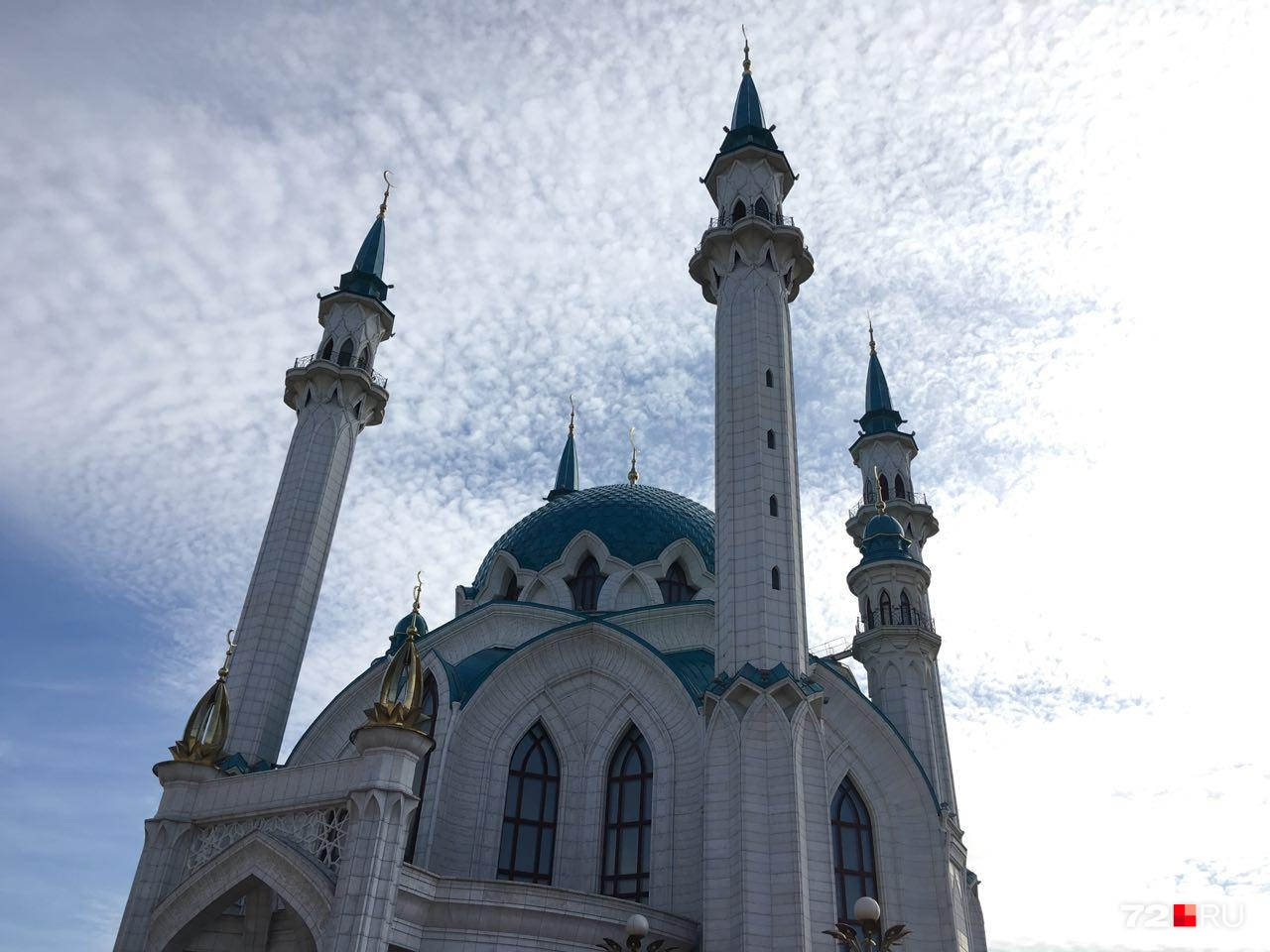 Мечеть Кул-Шариф построена в 2005 году и является одним из символов столицы Татарстана