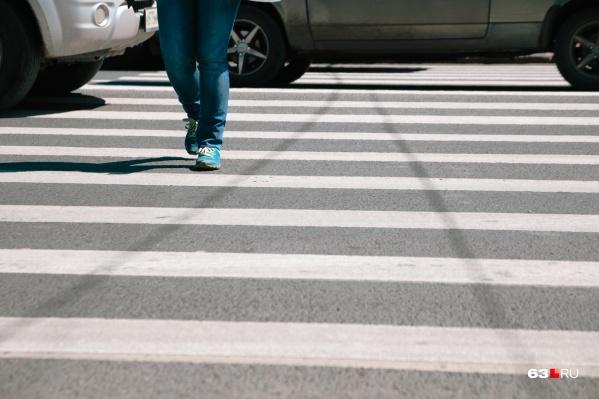 Работы по организации пешеходного перехода ждут своей очереди