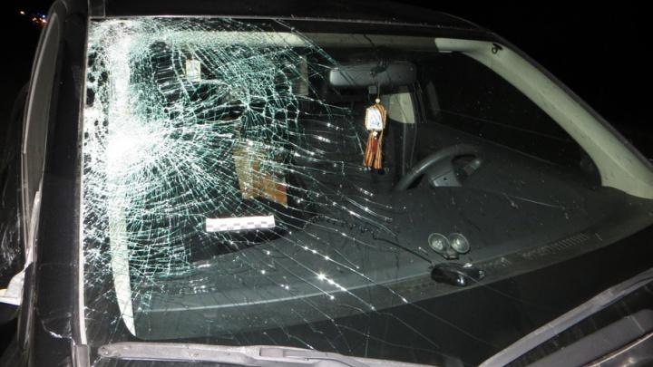 В Башкирии на трассе «Мицубиси» из Челябинска сбил пешехода