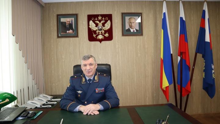 Задержан глава ГУФСИН Ростовской области