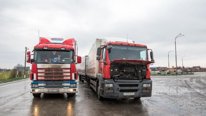Движение для грузовиков по трассе М-4 «Дон» ограничат в жаркую погоду