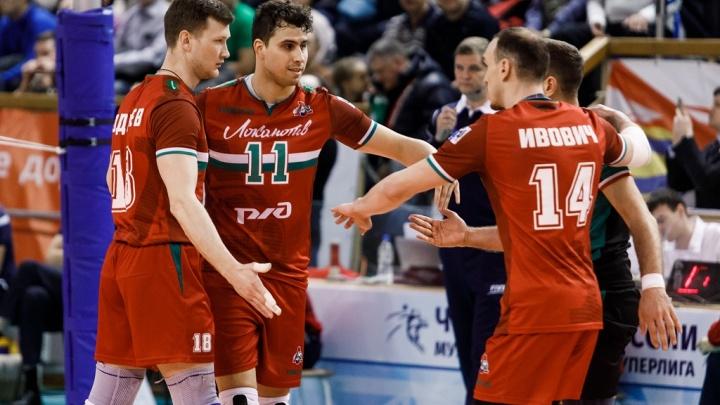 Волейбол: «Локомотив» одержал победу над красноярским «Енисеем»