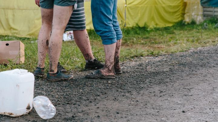 Во время Грушинского фестиваля на поляне установят баки для раздельного сбора мусора