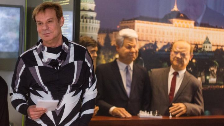 Ефим Шифрин в Екатеринбурге вспомнил 90-е и свои выступления перед Ельциным