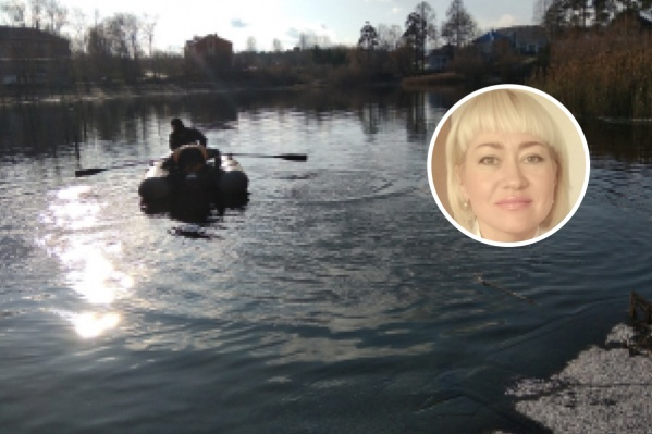 Женщина утонула в озере