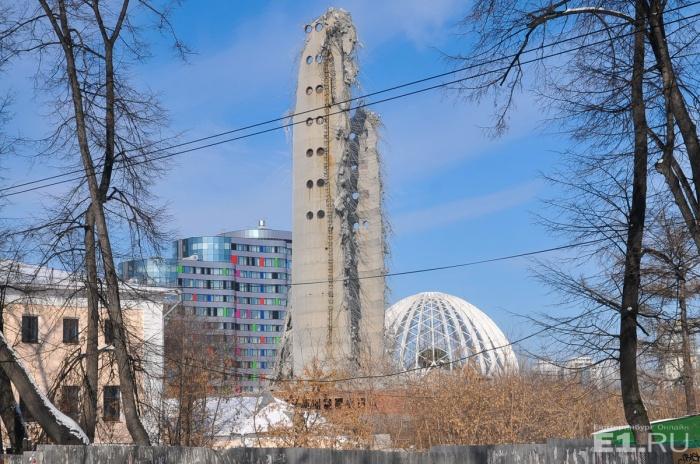 Екатеринбург лишился одного из своих символов
