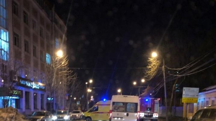 Очевидцы сообщили о пожаре в ТЦ «Вавилон» в Самаре