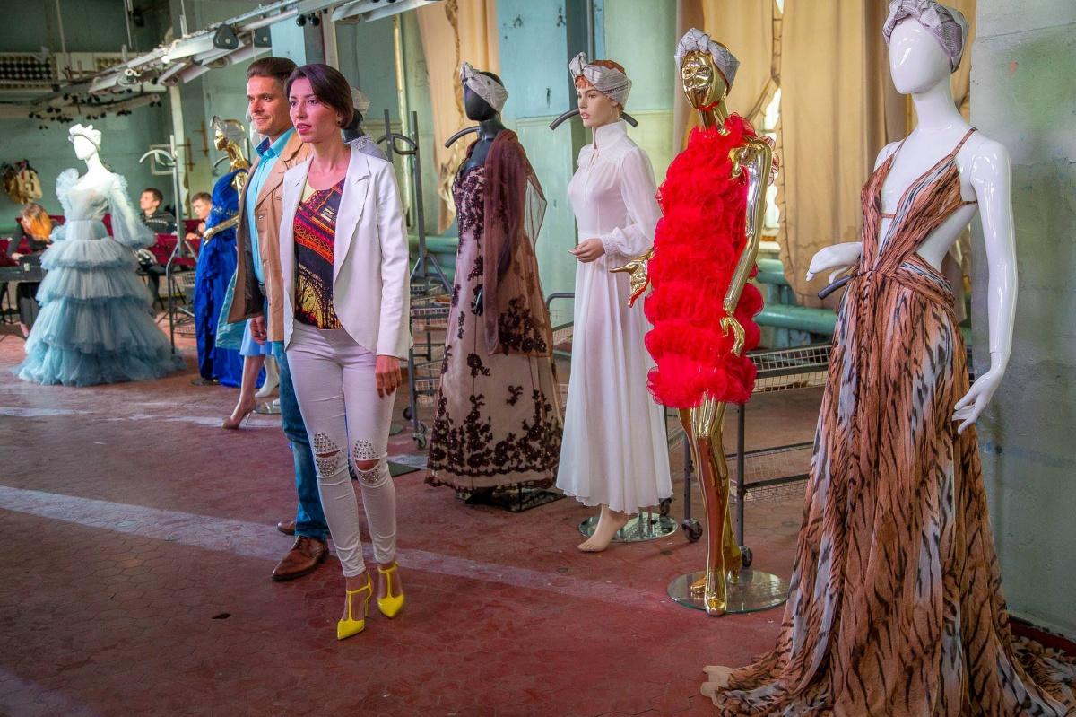 «Платья с историей» стали фоном для, возможно, будущего экспоната