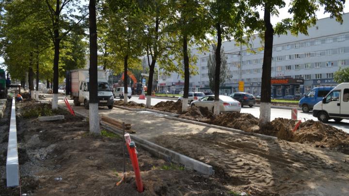 Ничего страшного или беда? На Комсомольском проспекте вырубают живые липы, а под корни кладут кабели